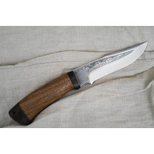 """Khazar"" Walnut handle (Steel-95x18)"