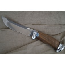 """Rosomaha"" Walnut handle (Steel-95x18)"