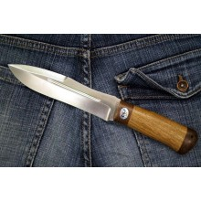 """Skorpion"" Walnut handle (Steel-50x14mf)"