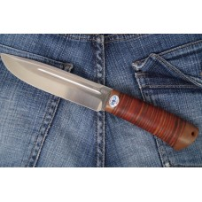 """Seliger"" Leather handle (Steel-95x18)"