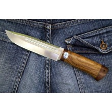 """Seliger"" Walnut handle (Steel-95x18)"