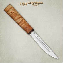 """Yakut"" Karelian birch Handle (Steel-95x18)"