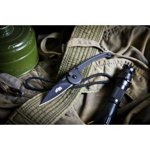 """Fluke"" Neck knife (7Cr17Mov Steel)"