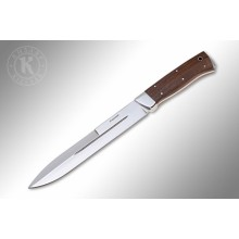 """Egerskiy"" Walnut handle with steel (AUS-8 Steel)"