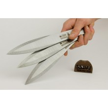 "Set of 3 Throwing knives ""Lepestok"" (420 Steel)"