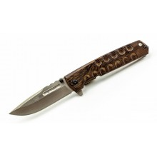 """T-34"" Walnut AUS-8 steel"