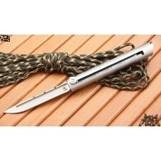 """Bamboo-04"" (AUS-8 steel)"