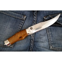 """Badger"" Walnut Handle (Steel-U10M)"