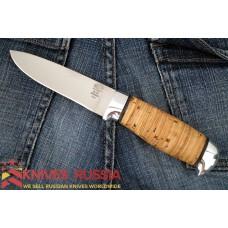"""N15"" Birch bark (Steel-40X10C2M)"